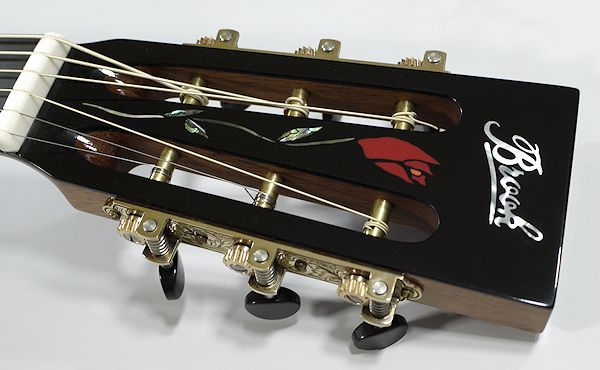 rose inlay headstock