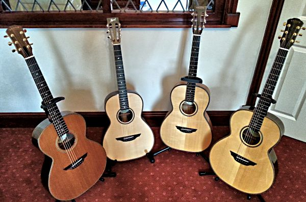 David Hornsby family of Brook Guitars
