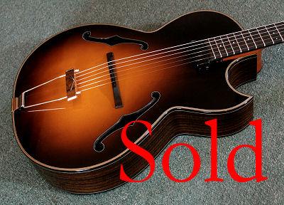 Brook Guitar Jazz sold