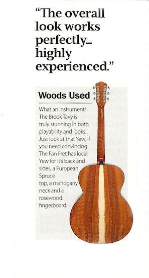 Brook fan fret woods used