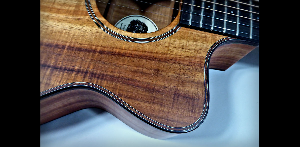 Brook Koa Close Up