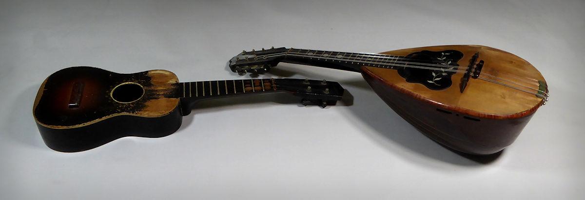 Uke and Mandolin