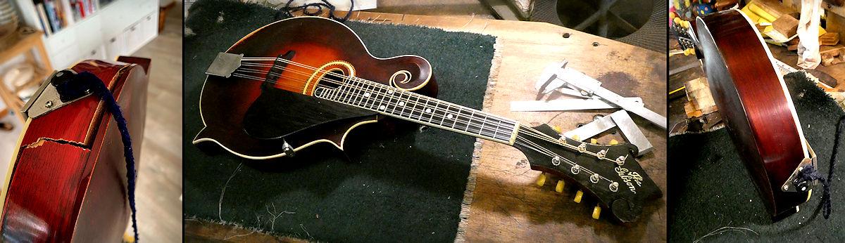Gibson Mandolin Repair