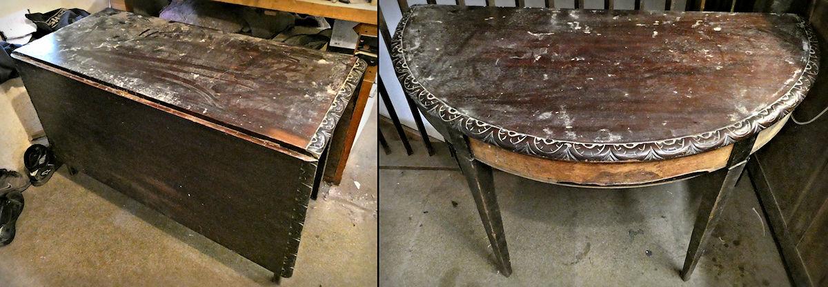 mahogany tables